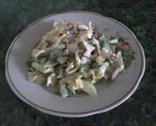 Салат с редиса
