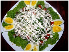 Салат из риса