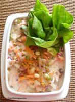 Витаминный салат с ростками