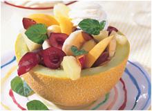 Оригинальный салат с фруктами