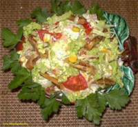 Салат с фигами