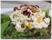 Куриный салат фото