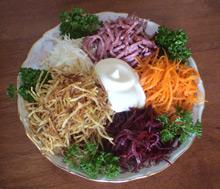 Фото салат татарский рецепт