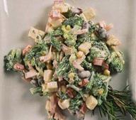 Салат из броколи