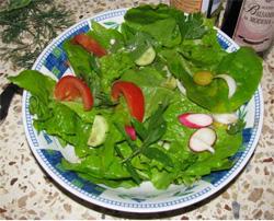 Первый салат