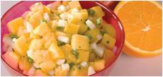 Фото экзотического салаты, острые салаты