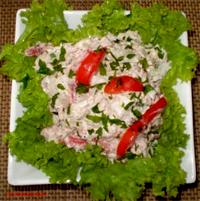 Салат с пекинкой