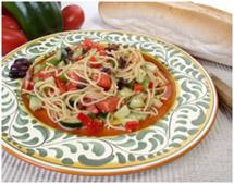 Салат со спагетти, салат на каждый день