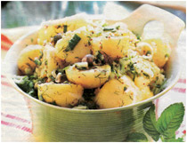 Картофельный салат фото