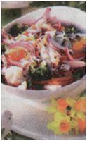 Полезный салат Здоровье