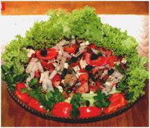 Латвийский салата