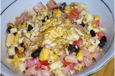 Вкусный салат с грушами