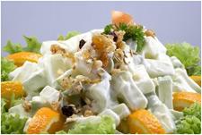 Новогодний ананасовый салат
