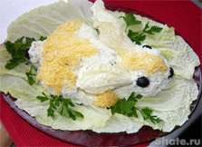 Новогодний салат 2011