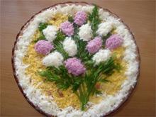 Красивый салат для праздничного стола