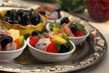 Оригинальный и красивый салатик