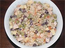 Простой салат на выходные