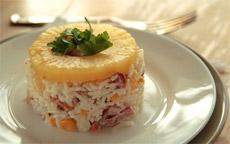 Рецепт гавайского салата