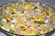 Смешанный салат с сельдереем