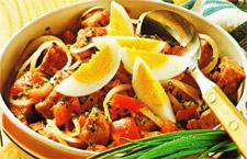 Вкусный салатик с мясом