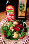 Быстрый салатик на обед
