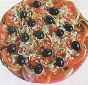 Салат из разных овощей