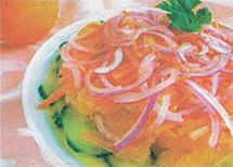 Свежий салат с овощами