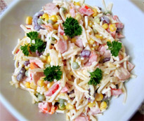 Салат с консервированным сельдереем