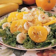 Бананово-апельсиновый салат
