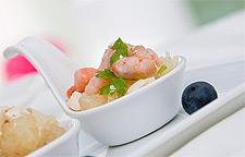 Рецепт быстрого креветочного салата