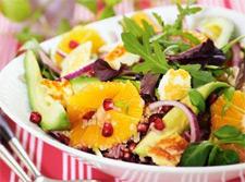 Рецепт салата с апельсинами и курицей
