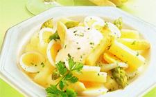 Рецепт приготовления вкусного салат со спаржей