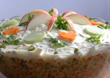 Салат из овощей на праздник