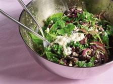 Сытный тосканский салат
