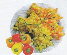 Интересный легкий салатик