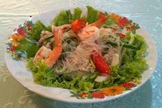 Фото рецепт салата с фунчозой