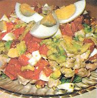 Вкусный рецепт с курятиной и шпондером