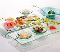 Стеклянная посуда на кухне