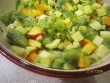 Рецепт салата с киви