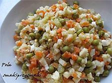Салат из овощей «Семейный обед»