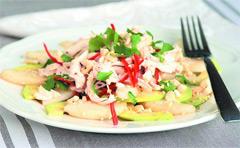 Готовим салат с курицей и авокадо фото