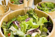 Быстрый салат из зелени