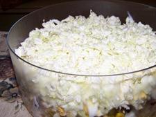 Рецепт салата с грибами и мясом