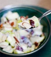 Как приготовить фруктовый салат с яблоками фото