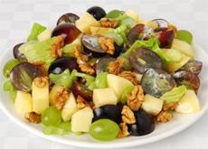 Рецепт приготовления легкого виноградного салата