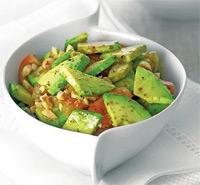 Рецепт салата с авокадо и помидорами фото
