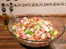 Быстрый морской салат