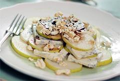 Грушевый салат рецепт приготовления с фото