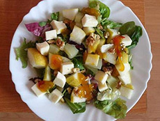 Рецепт салата из груш