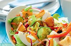 Пикантный овощной микс в одном рецепт